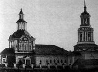 С Николаевской церкви упал купол с крестом