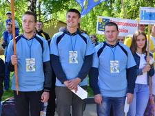 Волейболисты Богородского района приняли участие  в Сельских спортивных играх
